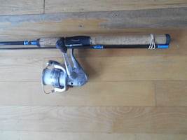 Fishing rod and reel Shimano Zirca, Shakespeare