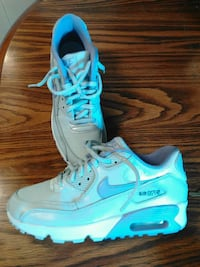 pair of white Nike Air Max shoes Des Moines, 50313