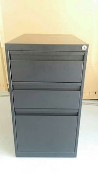 Metal Filing Cabinet with Drawers