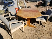 brown wooden table with chairs Arizona City, 85123