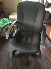 black leather office rolling armchair Knoxville, 37902