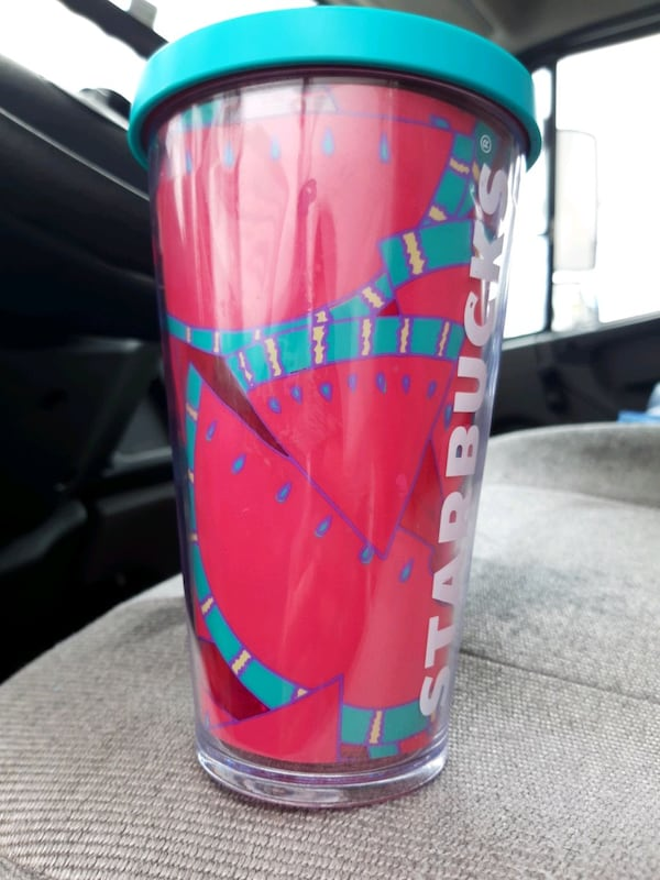 Starbucks  watermelon cup rare and hard to find  63871836-1855-4c2e-9acc-40880db89fc5