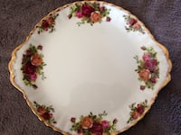 Royal Albert Old Country Roses Cake Plate Sherwood Park, T8H 0W2
