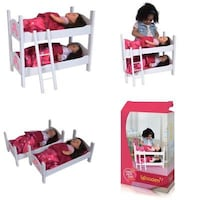 New Doll Bunk Bed  Woodbridge