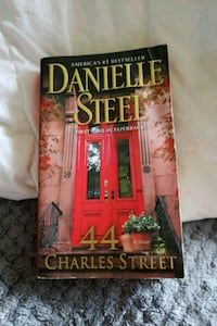 Danielle Steel book- 44 Charles Street Old Bridge Township