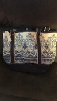two white-and-blue floral tote bags East Patchogue, 11772