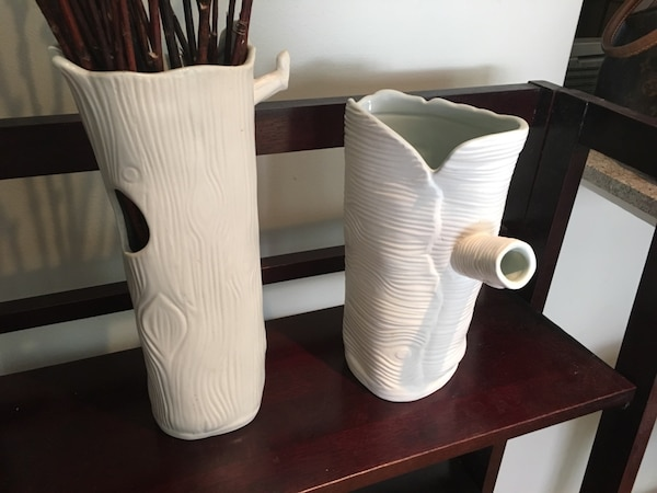 Used Therry Olson Designer Vase From Anthropologie For Sale In