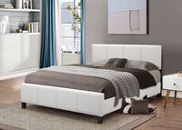 Brand new full size platform bed frame only  Silver Spring, 20902