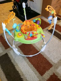 Baby's trampoline.Pickup on Steeles and yonge .(Fisher-price )