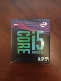 9th Gen Intel Core i5 - 9600K Turbo to 4.6Ghz Kissimmee
