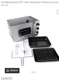 Wolfgang Puck Rotisserie Pressure Oven Clifton, 07011
