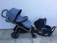 Peg Perego stroller and car seat Vaughan, L4L 9M6
