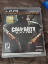 Call of Duty Black Ops PS3 game case Coachella, 92236