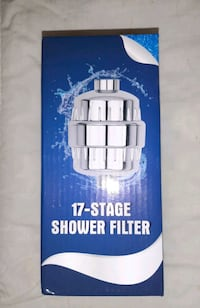 Shower water 17 stage filter