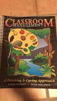 """Classroom Management """"A Thinking and Caring Approach"""" King, L7B 1J2"""