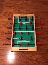 Foosball table with no ball Reston, 20194