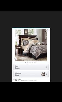 Madison Park Aubrey Queen Size Bed Comforter