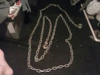 silver chain link necklace with pendant South Jordan, 84095