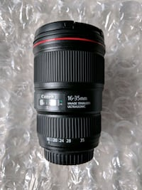 Canon Lens 16-35 F4 IS Like New Reston