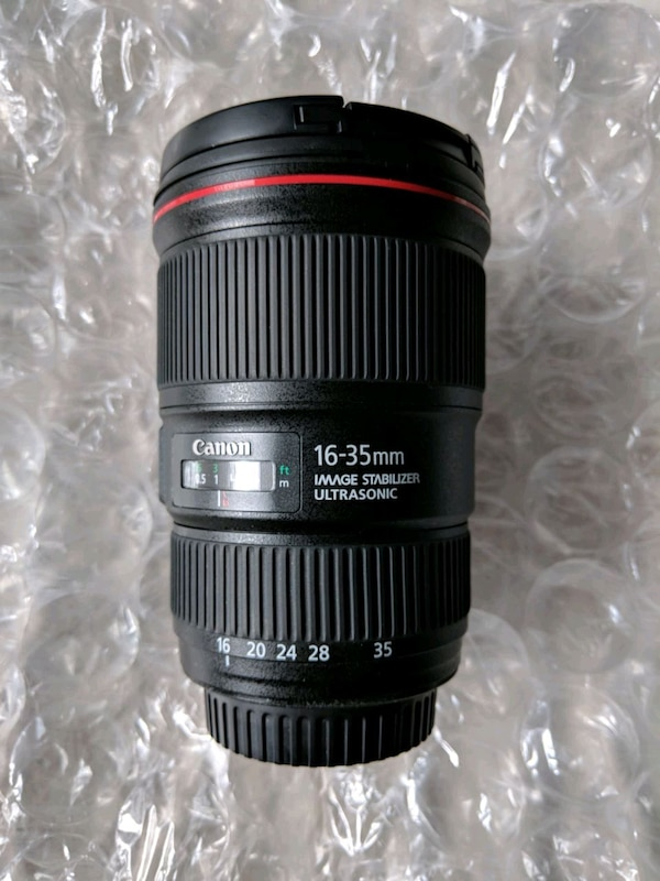Canon Lens 16-35 F4 IS Like New