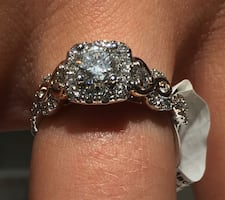 Kay jewlers ring now and forever series size 7