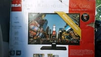 "19"" RCA flat screen TV"