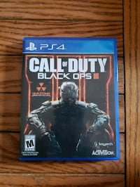 PS4 GAME CALL OF DUTY BLACK OPS Germantown, 20876