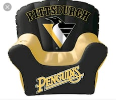 Pittsburgh Penguins inflatable chair