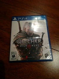 Sony PS4 The Witcher Wild Hunt game case New Dundee, N0B