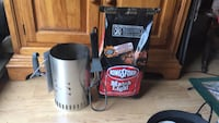 bag of Matchlite charcoal, charcoal fire starter chimney and electric charcoal fire starter  Southold, 11971