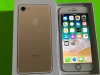 gold iPhone 7 with box New York, 10001