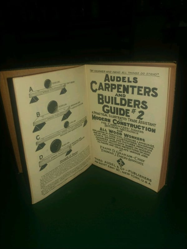 Audels carpenters and builders guide 7deaa8d6-2a49-4519-afab-42582876c1ea
