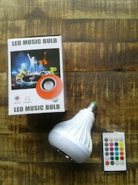 Bluetooth music LED lightbulb  Burtonsville, 20866