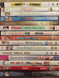 Various DVD movies Toronto, M6K 0A5