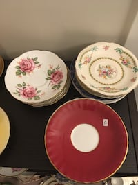 $2 saucers for sale lots to choose from