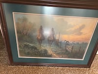 G Harvey signed frames print $150 each  Tulsa, 74132