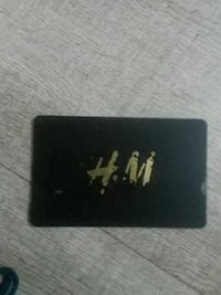 H&M gift card $90