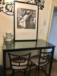 Bar Height Dining Set (Table & 2 Chairs) North Bergen, 07047