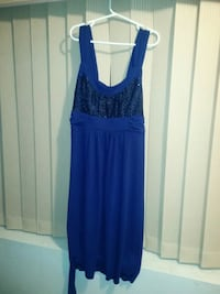 Blue sequin dress Kamloops, V2C 6C7