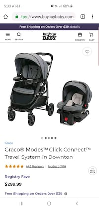 Graco Modes Click Connect    Cypress, 77429