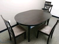 Brown table 4 chairs Oxnard, 93030