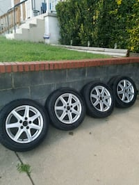 Honda Rims and tires 5 lug 49 km
