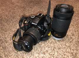 Nikon D5300 with Extra lens