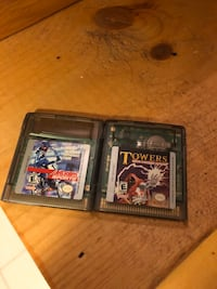 2 Gameboy Color games: Jeremy McGrath Supercross 2000 and Towers Toronto, M6J 3C3