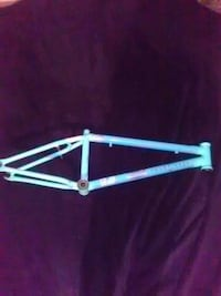white bicycle frame Fort Plain, 13339