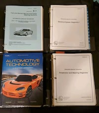 Auto service tech 1 textbook and learning guides Surrey, V4A