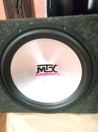 black and gray MTX Audio subwoofer Philadelphia, 19133