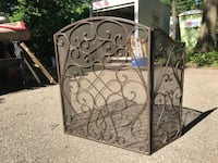 Cast iron French country fire place screen Hopkins, 55343
