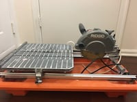 Ridgid r 4030 7 in tile saw with laser excellent condition $100 Leesburg, 20176