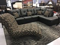 The Cristal Royale Collection Customers Made Sectional Sofa Charlotte, 28216
